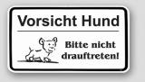 hunde warnschilder hunde funschilder achtung hund schild vorsicht hund schild. Black Bedroom Furniture Sets. Home Design Ideas